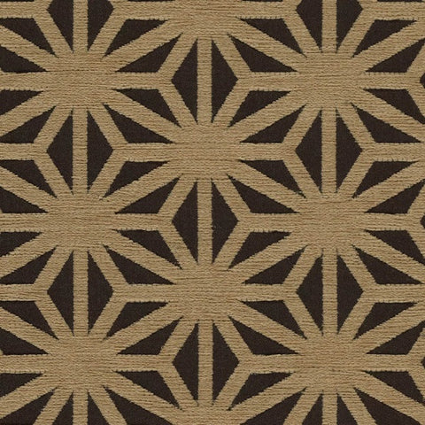 Arc-Com Fabrics Upholstery Fabric Remnant Kirigami Taupe