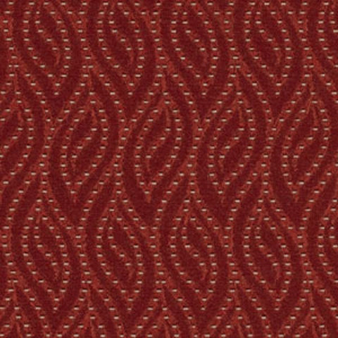 Kimball Office Upholstery Fabric Remnant Flicker Sangria