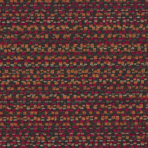 Designtex Fabrics Upholstery Fabric Remnant Modern Tweed Chili Red