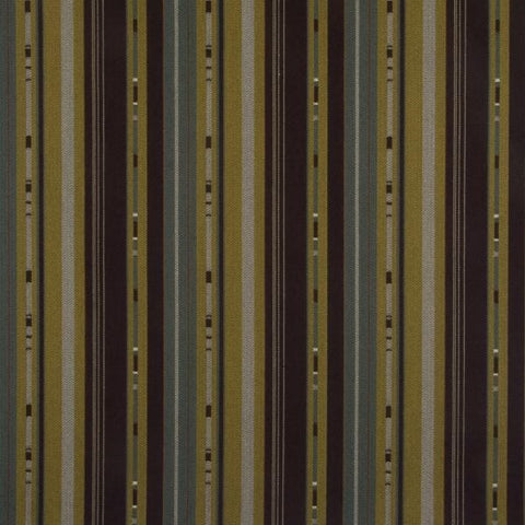 Arc-Com Monte Carlo Amethyst Horizontal Barcode Stripe Crypton Upholstery Fabric