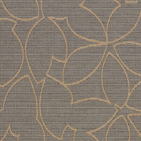 Designtex Motif Element Gray Upholstery Fabric