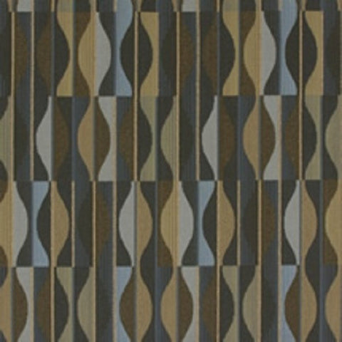 Arc-Com Fabrics Upholstery Fabric Neutral Abstract Geometric Bay Leaf