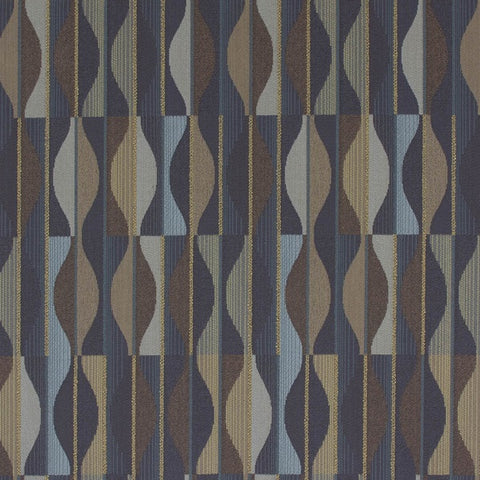 Arc-Com Fabrics Upholstery Fabric Neutral Abstract Geometric Rain