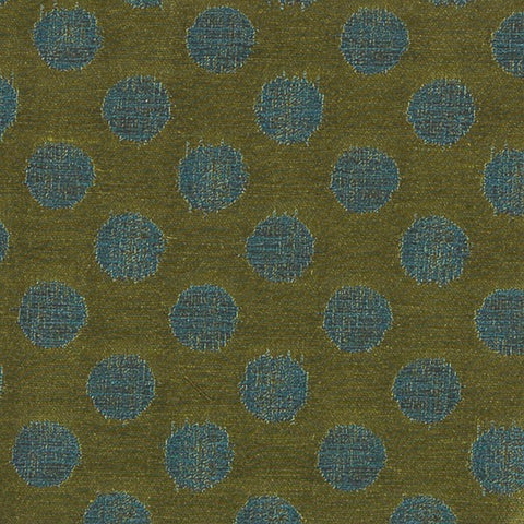 Fabric Remnant of Arc-Com Nikko Moss Green Upholstery Fabric