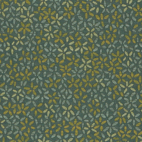 Arc-Com Ombre Petal Herb Small Floral Green Upholstery Fabric