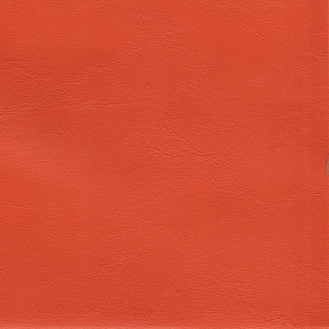 Merit Solid Orange Colored Outdoor Marine Vinyl