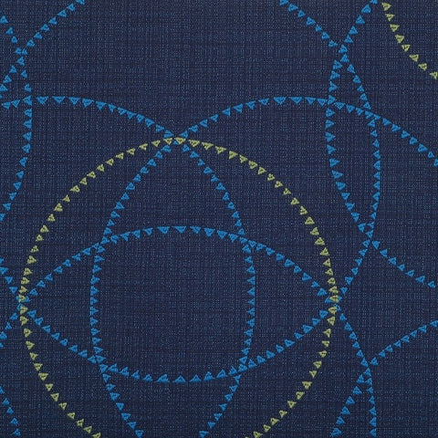 Maharam Remnant of Periphery Amparo Blue Upholstery Fabric