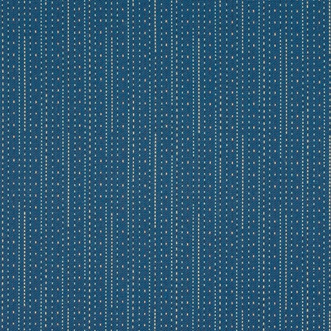 Maharam Pick Cool Stripe Blue Upholstery Fabric