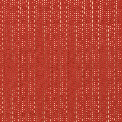 Remnant of Maharam Pick Crypton Pepper Red Upholstery Fabric