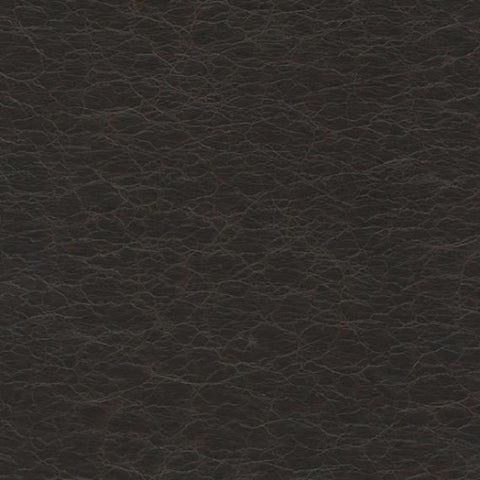 Remnant of Ultraleather Pompeii Brazil Black Upholstery Vinyl