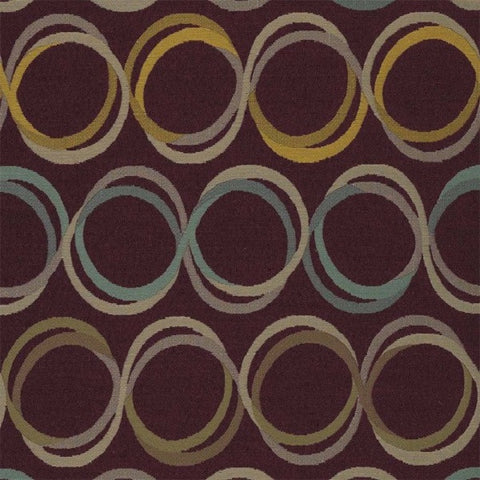 Designtex Fabrics Upholstery Fabric Remnant Rotary Mulberry