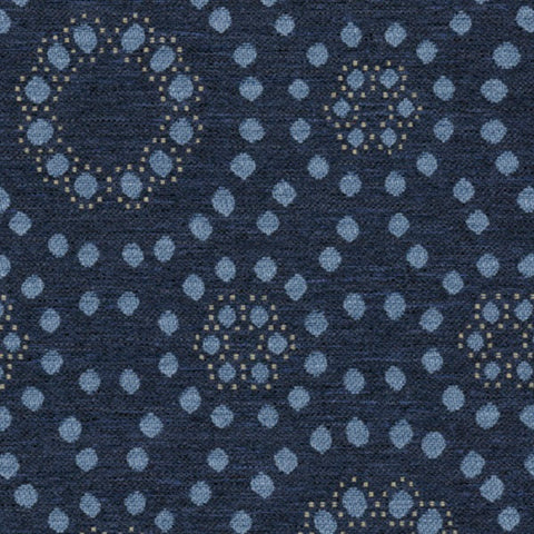 Knoll Roundtrip On Time Blue Upholstery Fabric
