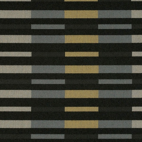 Maharam Rule Nightsky Black Outdoor Upholstery Fabric 466190–008