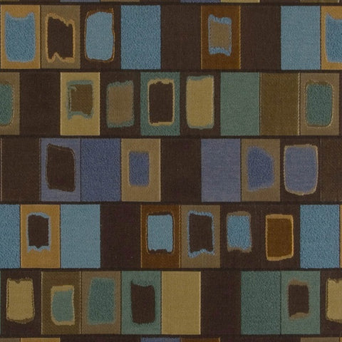 Arc-Com Sagrada Godiva Geometric Rectangle Matelasse Upholstery Fabric