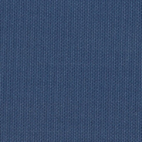 Linette Sail Cloth Textured Solid Blue Polyurethane Upholstery Fabric