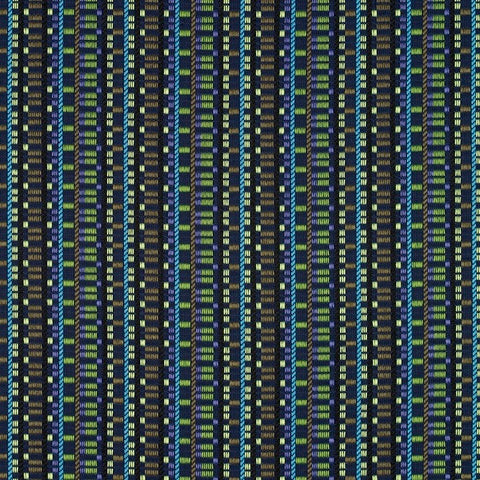Maharam Sequence Starbaord Geometric Stripe Blue Upholstery Fabric