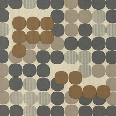 Momentum Silica Compass Quarry Geometric Gray Upholstery Vinyl