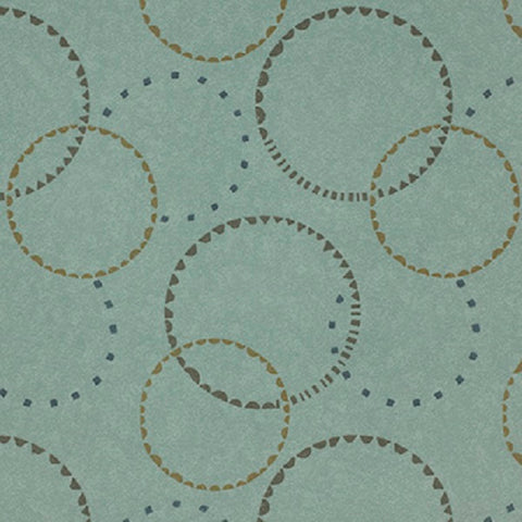 Fabric Remnant of Momentum Silica Hoop Tranquil Upholstery Vinyl