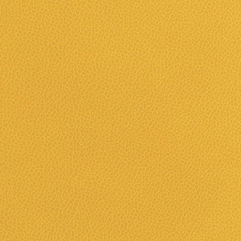 Momentum Textiles Upholstery Fabric Remnant Silica Leather Marigold