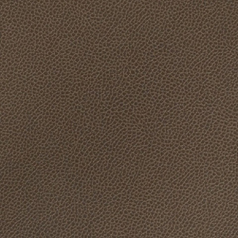 Momentum Textiles Upholstery Fabric Remnant Silica Leather Mink