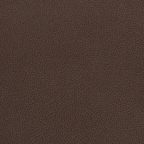 Momentum Textiles Upholstery Fabric Remnant Silica Leather Umber