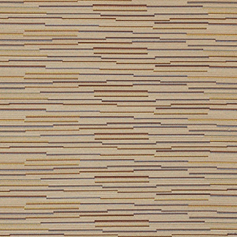 Momentum Strut Chai Irregular Stripe Brown Upholstery Fabric