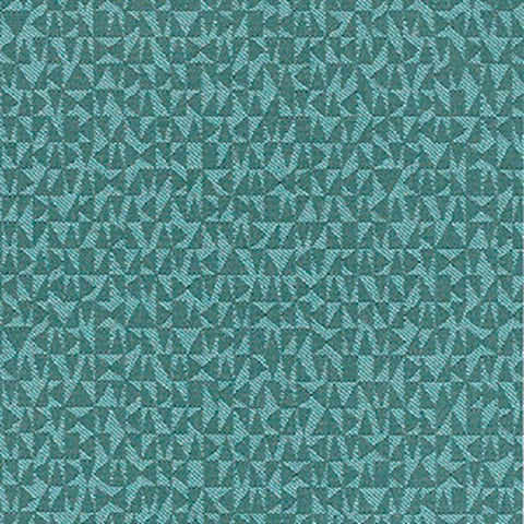 Remnant of Momentum Syntax Turquoise Upholstery Fabric