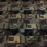 Swavelle Tomlin Timber Geometric Brown Upholstery Fabric