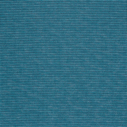 Fabric Remnant of Maharam Trait Peacock Blue Upholstery Fabric