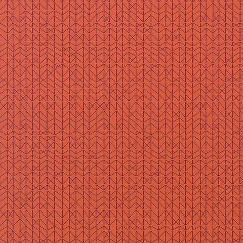 Maharam Tread Toadstool Orange Upholstery Vinyl 466113-007