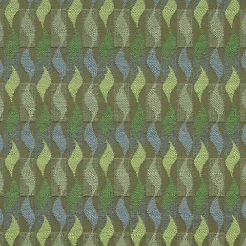 Maharam Upholstery Fabric Remnant Whirl Tropic