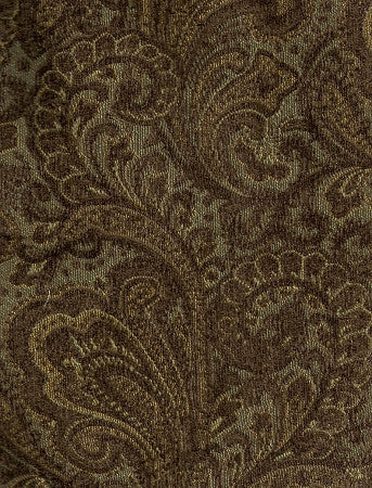 Swavelle Mill Creek Upholstery Fabric Paisley Chenille Waller Agean