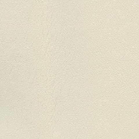 Fabric Remnant of Ultraleather Pro Parfait Ivory Upholstery Vinyl