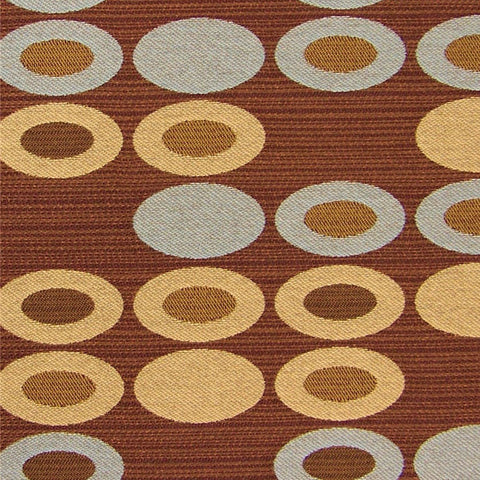 Fabric Remnant of Abacus Wooden Nickel