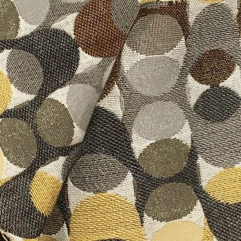 Swavelle Aeration Metallic Geometric Multi Upholstery Fabric