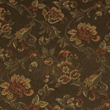 Upholstery Fabric Floral Airy Bronze Toto Fabrics