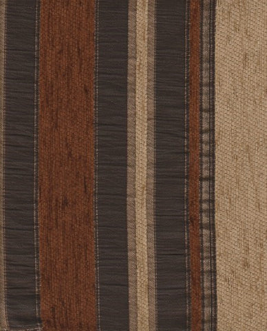 Upholstery Fabric Thick Stripe Allesi Mocha Toto Fabrics