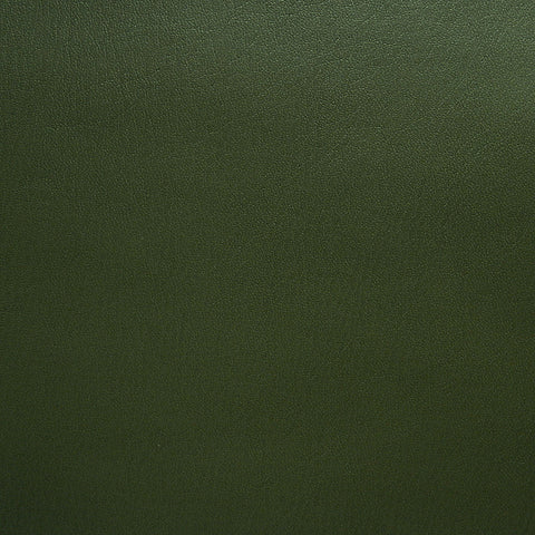 Almost Nappa Dark Olive Solid Faux Leather Upholstery Vinyl