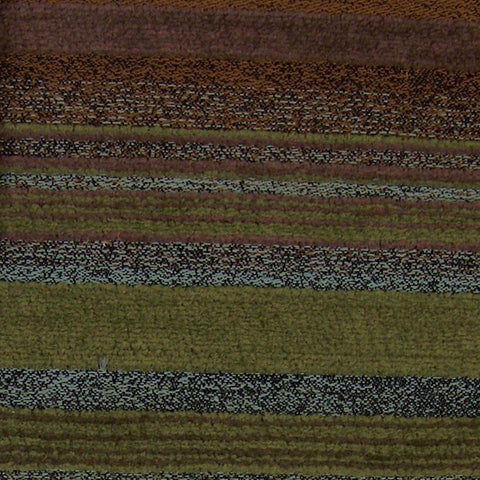 Fabric Remnant of Amuse Moor Stripe