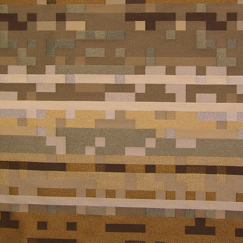 Anagram Quarry Pixelated Geometric Upholstery Fabric
