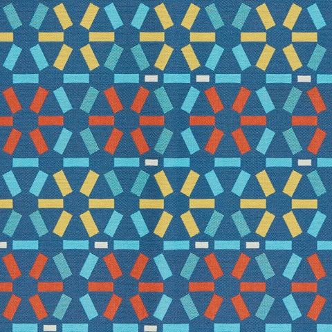 Upholstery Fabric Geometric Design Atomic Federal Toto Fabrics