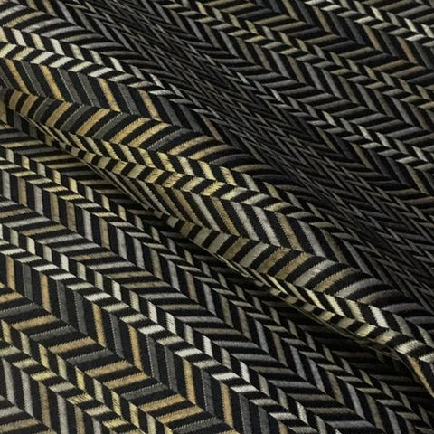 Swavelle Mill Creek Upholstery Fabric Chevron Attribute Antique Toto Fabrics