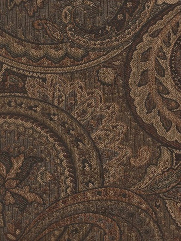 Swavelle Mill Creek Upholstery Fabric Large Paisley Design Augustine Godiva Toto Fabrics