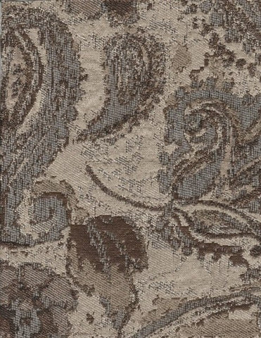 Upholstery Fabric Small Paisley Design Aurburndale Sandcastle Toto Fabrics
