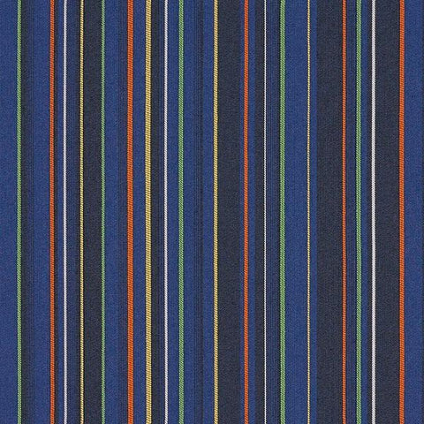 Arc-Com Upholstery Fabric Stripe Aurora Midnight Toto Fabrics