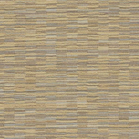 Mayer Aurora Wheat Stripe Chenille Beige Upholstery Fabric
