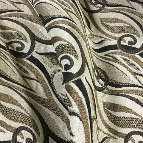 Swavelle Mill Creek Backtrack Pecan  Brown Upholstery Fabric