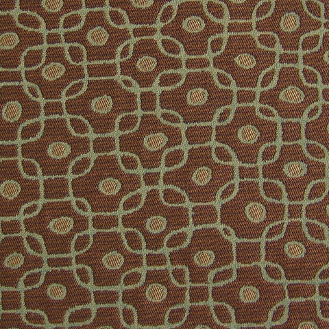 Batik Java Luxury Geometric Boucle Upholstery Fabric