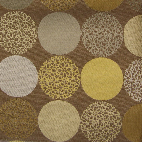 Carnegie Upholstery Fabric Rows Of Circle Bauble Color 41 Toto Fabrics