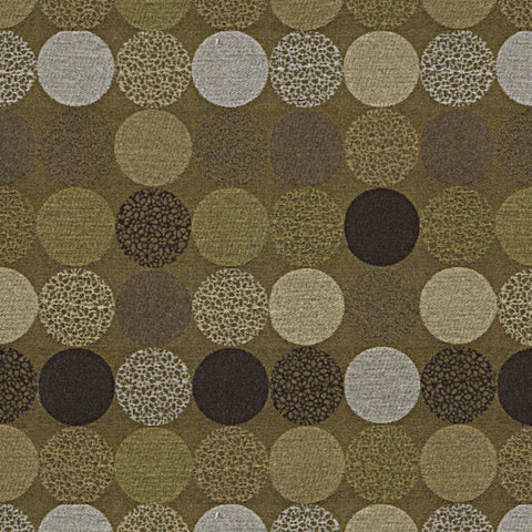 Upholstery Fabric Large Textured Circles Bauble Color 43 Toto Fabrics